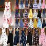 Womens Summer Casual Vintage V-Neck Sleeveless  Long Bohemian Maxi Dress