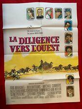 Affiche cinéma-60x80»LA DILIGENCE VERS L'OUEST»1971- DOUGLAS-MARGRET-BUTTONS