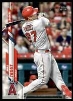 2020 Topps Update Mike Trout #U-292 Tw7401