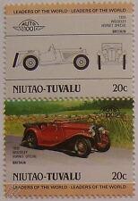 1935 Wolseley Hornet timbres spéciaux de voiture (les dirigeants du monde / auto 100)
