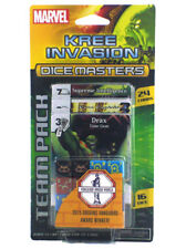 Dice Masters Kree Invasion Team Pack 24 Cards 16 Dice Marvel Groot Thanos New