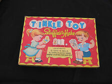 vintage toy box Tinkle toy Box Only!