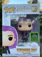 Harry Potter - Nymphadora Tonks ECCC 2020 #107 Funko Pop Vinyl New In Box+Protec