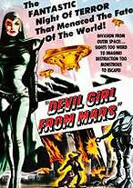 DEVIL GIRL FROM MARS - DVD - Region Free - Sealed