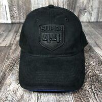 SUPER 44 ALLIED EXHAUST SYSTEM HAT CAP BLACK ADJUSTABLE ONE SIZE OSFM Strap Back