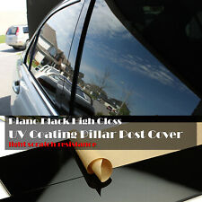 10 pcs Glossy Black Pillar Post Cover for 08-16 Town & Country/Grand Caravan