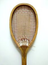 1895 Antique Ormond London Centrix Lawn Racket Dbl Pattern Eclipse Emperor Extra