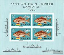 Ghana block21 (complete.issue.) unmounted mint / never hinged 1966 Hunger