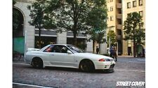 Nissan 88-94 R32 Skyline 2D Coupe Nismo Style Carbon Fiber Side Skirts Extension