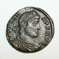 Antica moneta romana VALEN Angelo. A711