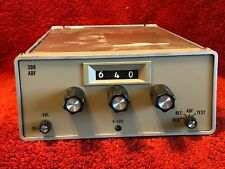 CESSNA R-546E ADF RECEIVER P/N 41240-0101 WITH TRAY AND CONNECTOR