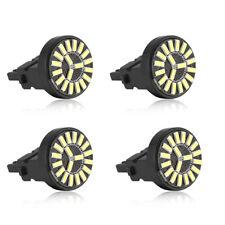4pc T20 6000K White 7443 W21/5W LED Car No Error Backup Parking Lights lamp Bulb
