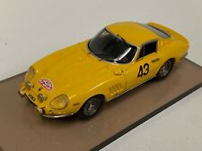 1/43 AMR Ferrari 275 GTB Yellow #43 from 1966 Rally of Monte Carlo GP002