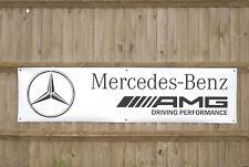 Mercedes AMG Workshop Garage Banner  LARGE
