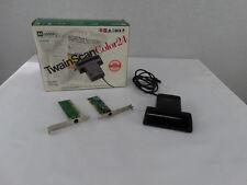 Mustek Twain Scan Handheld Corded 24 Bit Color CG -8400 Scanner & Interface Card