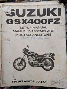 Suzuk GSX400FZ Workshop Manual
