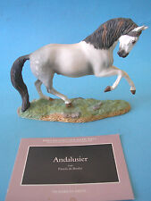 Franklin Comme neuf The great Horses of the World porcelaine personnages 1989 Andalous