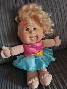 Cabbage Patch Kid 2013 Blonde/Pink Hair Brown Eyes Braces