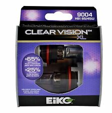 Eiko Clear Vision XL 9004 HB1 65/45W Two Bulbs Head Light High Low Beam Replace
