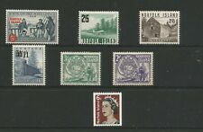 NORFOLK ISLAND 1953/60 SMALL COLLECTION OF MINT REMAINDERS