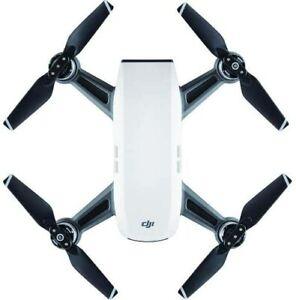 DJI Spark, Portable Mini Drone, Alpine White - *Brand New* - Alpine White (R)