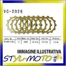KIT DISCHI FRIZIONE SUGHERO VESRAH YAMAHA YZF R 6 R6 600 2002