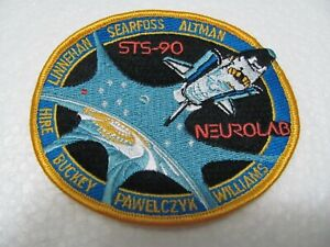 TOPPA - Patch  Ricamata - SPACE SHUTTLE STS-90 Columbia Mission 1998 - Iron on
