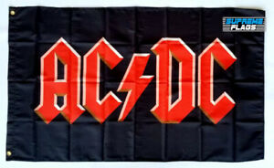 ACDC Flag 3x5 ft Banner Music Band AC DC