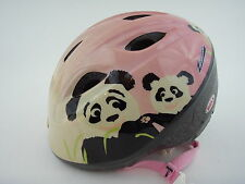 BELL Toddler Bike Safety Helmet Girls Panda Bear EUC!