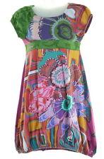 DESIGUAL Girls Dress Size 4T Large Multi Cotton