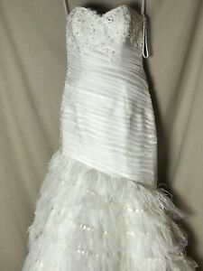 Allure Couture Style C174 Size 12 Wedding Dress