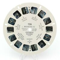 View-Master Reel # 136 Washington DC Government Buildings USA viewmaster
