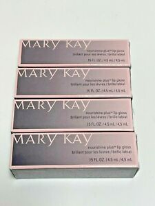 Mary Kay Nourishine Plus Lip Gloss NIB Choose Your Shade Discontinued Colors