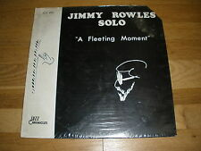 JIMMY ROWLES Solo a fleeting moment LP Record - sealed