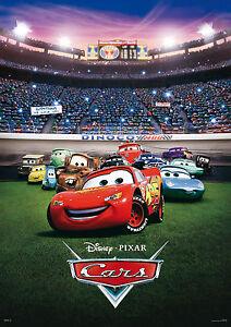 "Pixar - Disney Cars 2 Mini 8.5"" x 11""  Movie Poster -"