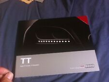 2014 Audi TT Coupe and Roadster USA Color Brochure Catalog Prospekt
