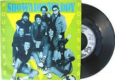 """ROCKABILLY SHOWADDYWADDY 7"""" Footsteps / Tribute 1981 BELL Label Vinyl"""