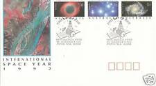 1992 International Space Year (Gummed Stamps) FDC St Georges Tce Perth 6000 PMK