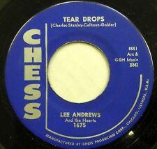 LEE ANDREWS & HEARTS 45 Teardrops orig 1957 Doo Wop  #BB1672