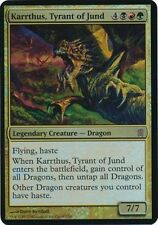 OVERSIZED CARD-->MAGIC KARRTHUS, TYRANT OF JUND FOIL-COMMANDER'S ARSENAL LIM.ED.