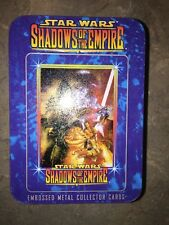 Star Wars Shadow Of The Empire Embossed Metal Collector Cards