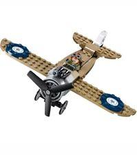Lego Steve Trevor Minifigure & Fighter Plane. From 76075 brand new