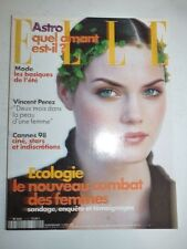 Magazine mode fashion ELLE French #2732 11 mai 1998 Mini Anden