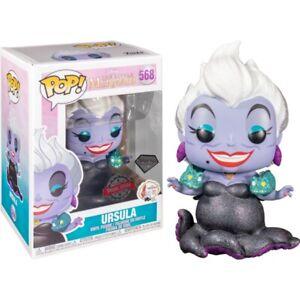 Disney The Little Mermaid Ursula with Eels Glitter #568 Funko POP! vinyl (RS)