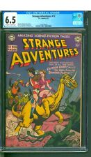 STRANGE ADVENTURES #12  CGC 6.5 FN+  NICE OW/W PAGES!  EARLY CAPT. COMET STORY!