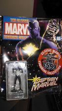 Raro, EAGLEMOSS, Clásico MARVEL FIGURINE COLLECTION, Capitán Marvel Variante