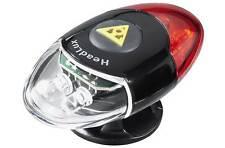 Topeak Headlux Cycling Helmet 3 Mode Front & Rear LED Light Set - 10 Lumen