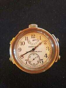 WWII US Navy Hamilton Chronometer 1942 marked Bureau of Ships US Navy