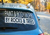 Paint and body work by rocks & tress off road sticker patrol Landcruiser 9 COLOR
