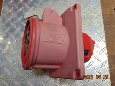 Hubbell 4100r7w 100 Amp 480v 3ph 4w Pin Amp Sleeve Receptacle Missing Cap